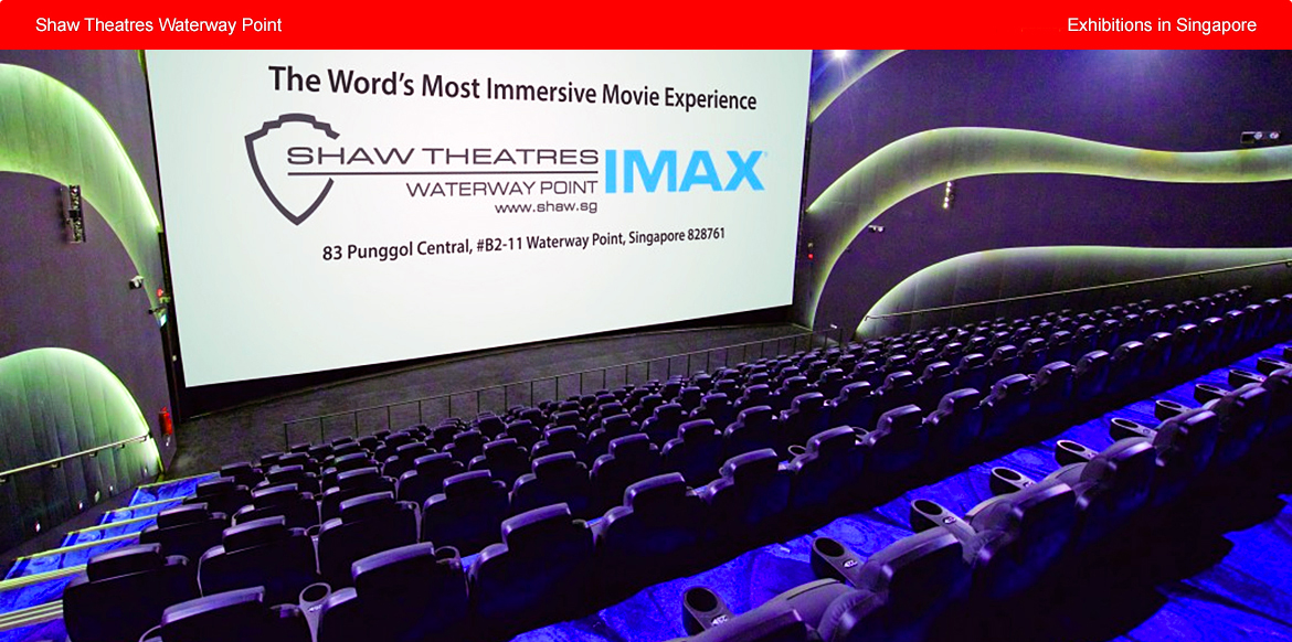 Shaw Theatres Waterway Point in Singapore