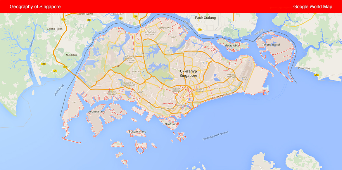 Geography of Singapore